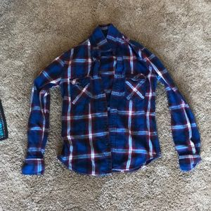 Flannel long sleeve